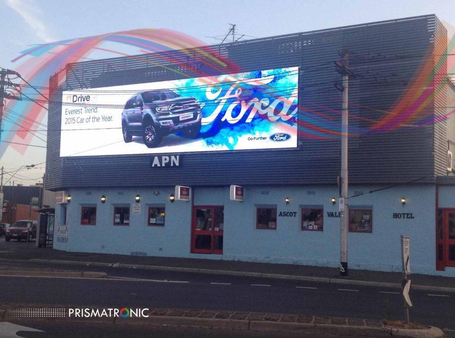 Affichage LED P10 12x3m – Australie