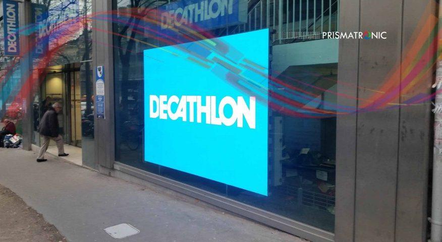 Panneau LED intérieur – Decathlon, France