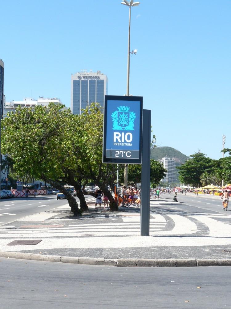 Panneau LED 2m² – Brésil